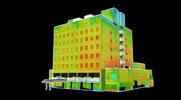 福島県自治会館様3D可視画像